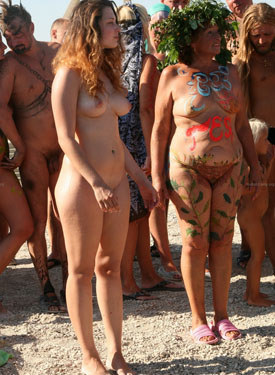 Nudists holliday - part 1