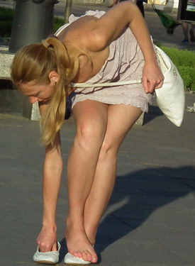 Sexy candid legs and asses of the real girls caught at the street